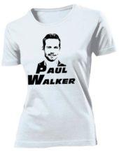 Футболка Paul Walker женская белая