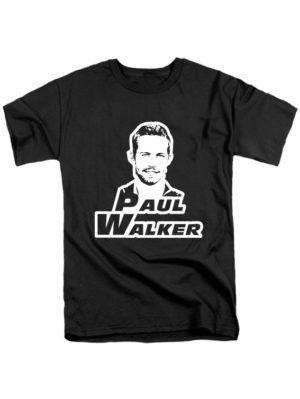 Футболка Paul Walker черная