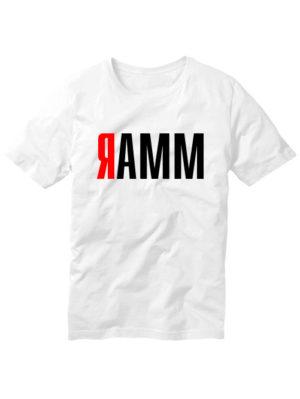 Футболка Ramm белая