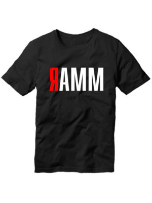 Футболка Ramm черная