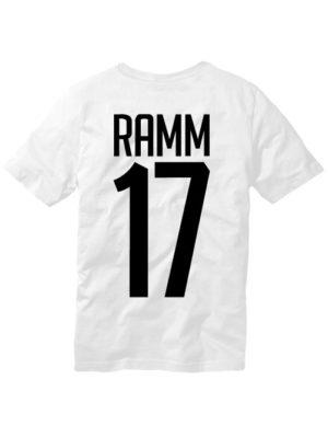 Футболка Ramm 17 белая