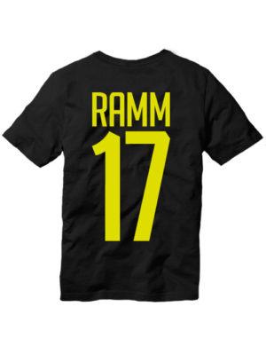 Футболка Ramm 17 черная