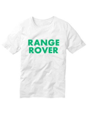 Футболка Range rover белая