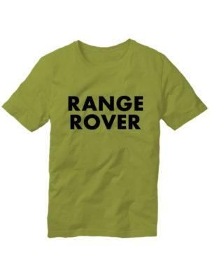 Футболка Range rover оливковая