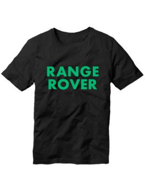 Футболка Range rover черная