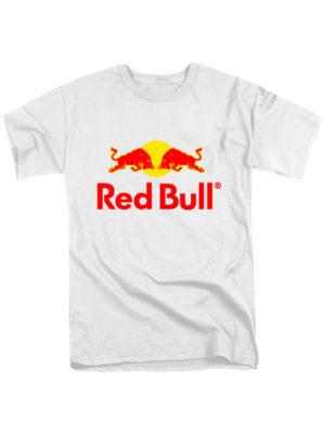 Футболка Red Bull белая