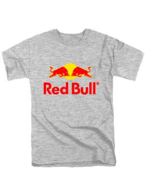 Футболка Red Bull серая