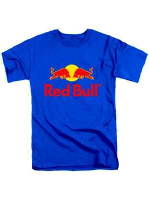 Футболка Red Bull синяя