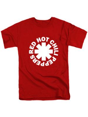 Футболка Red hot chili peppers красная