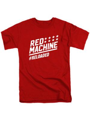 Футболка Red mashine красная
