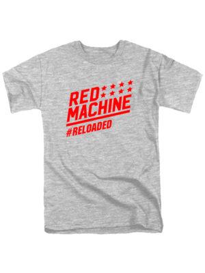 Футболка Red mashine серая