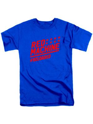 Футболка Red mashine синяя