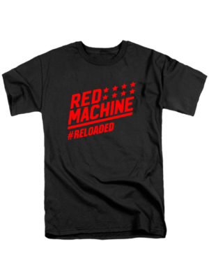 Футболка Red mashine черная
