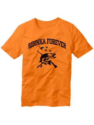 Футболка Ribinka forever оранжевая