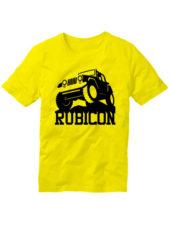Футболка Rubicon желтая