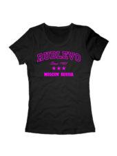 Футболка Rublevo женская черная