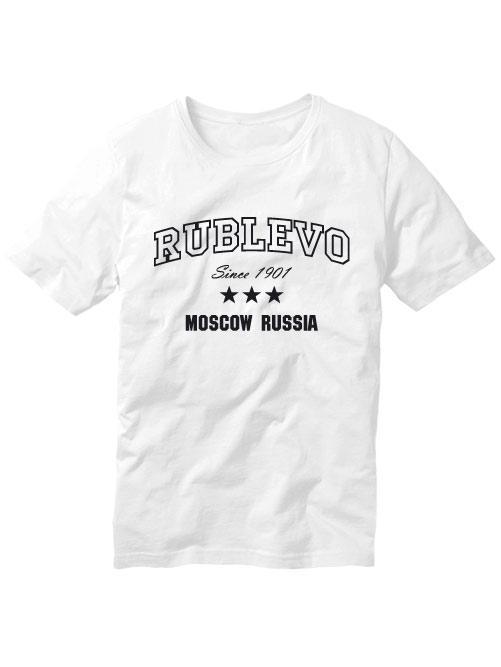 Футболка Rublevo белая