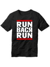 Футболка Run Вася run черная