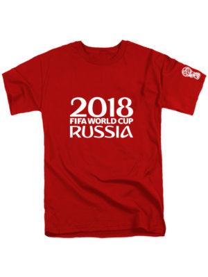 Футболка Russia fifa world cup 2018 красная