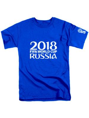 Футболка Russia fifa world cup 2018 синяя