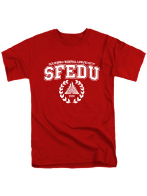 Футболка SFEDU красная