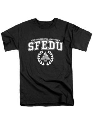 Футболка SFEDU черная