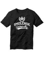 Футболка Smolensk university черная