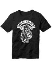 Футболка Sons of anarchy черная