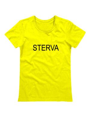 Футболка Sterva желтая