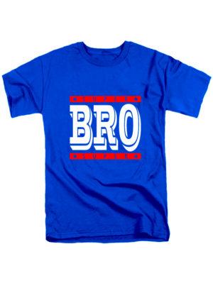 Футболка Super Bro синяя