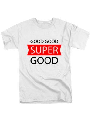 Футболка Super good мужская белая