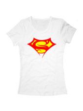 Футболка Supergirl белая