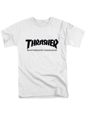 Футболка Thrasher белая