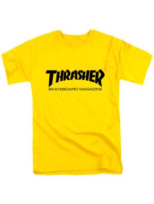 Футболка Thrasher желтая