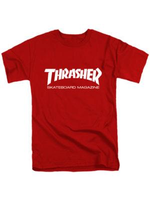 Футболка Thrasher красная