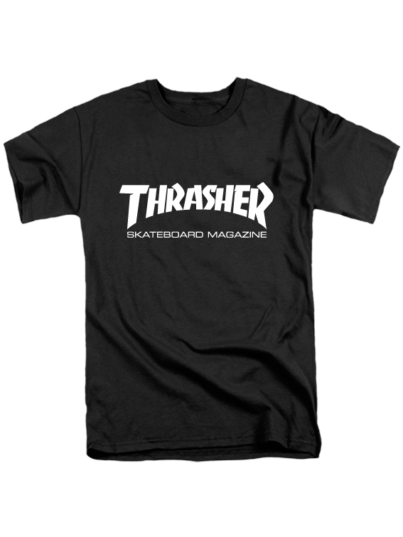 Футболка Thrasher черная