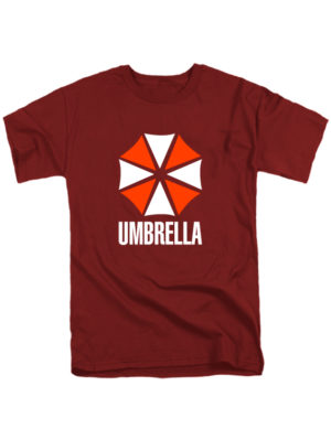 Футболка Umbrella бордовая