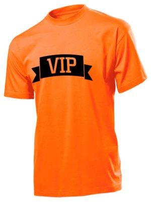 Футболка VIP мужская оранжевая