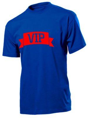 Футболка VIP мужская синяя