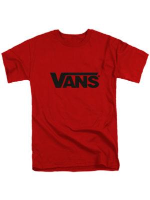 Футболка Vans красная