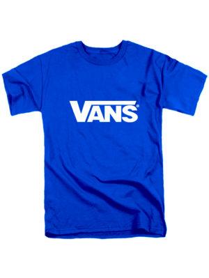 Футболка Vans синяя