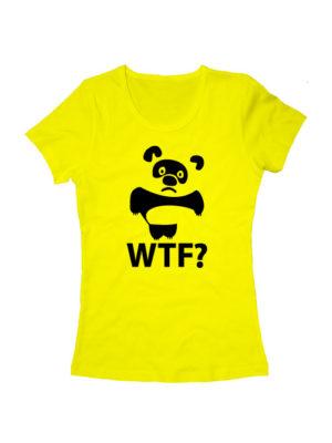 Футболка WTF Винни Пух желтая