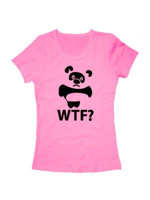 Футболка WTF Винни Пух розовая