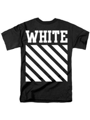 Футболка White черная