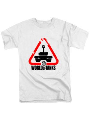 Футболка World of tanks белая