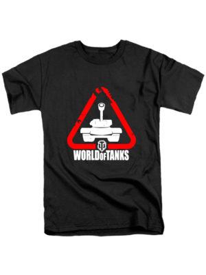 Футболка World of tanks черная