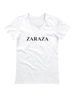 Футболка Zaraza белая