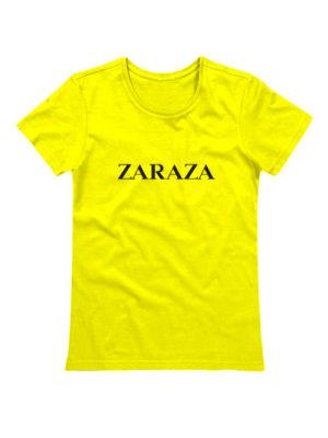 Футболка Zaraza желтая