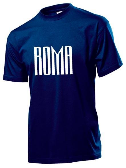 Футболка Roma мужская темно синяя