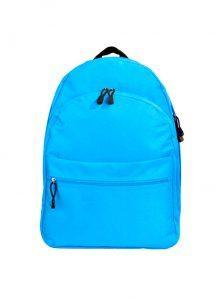 Классический и одновременно стильный молодежный рюкзак. Вместительный и очень удобный, габариты 350x170x450 мм. Рюкзак имеет два внутренний обьемных отделения на молнии, внешний карман на липучке. Материал полиэстер 600D, влагостойкий, износотойкий. Вес изделия 500 гр. Цвет голубой